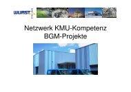 Vortrag Wurst Stahlbau GmbH - Netzwerk KMU-Kompetenz