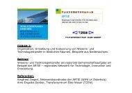 FORUM 2: Organisation, Umsetzung und Evaluierung von ... - ARTIE