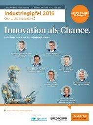 Innovation als Chance