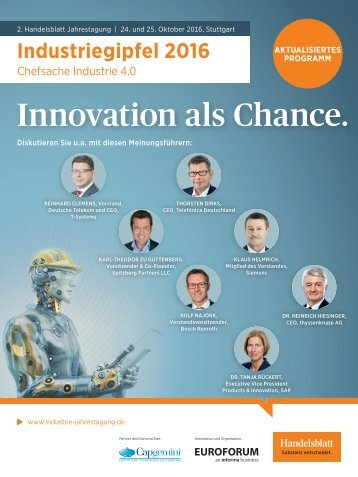 Innovation als Chance