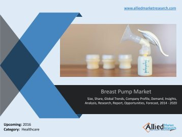 Breast Pump Market by Product type and Technology