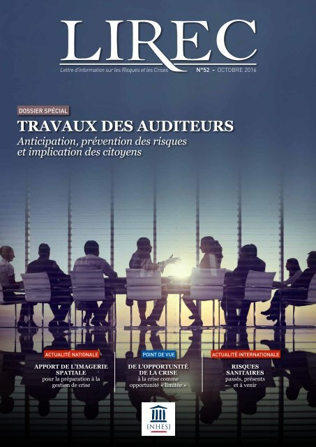 TRAVAUX DES AUDITEURS