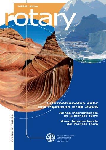 Download Magazin April 2008 - Rotary Schweiz