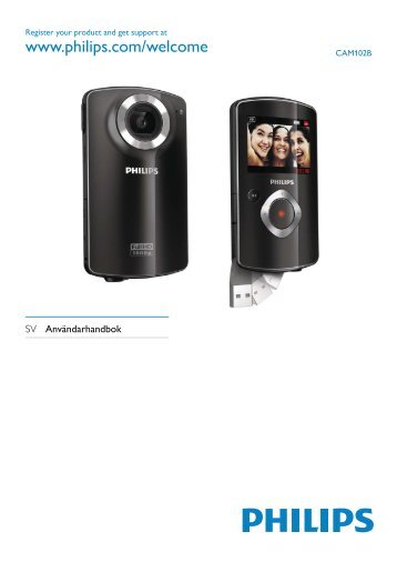 Philips HD camcorder - User manual - SWE