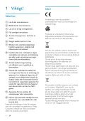 Philips HD camcorder - User manual - SWE - Page 3
