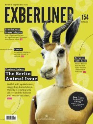 EXBERLINER Issue 154, November 2016