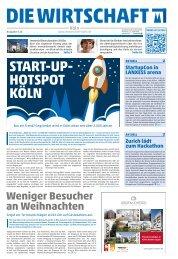 Die Wirtschaft Köln - Ausgabe 05 / 2016