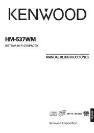 Kenwood HM-537WM - Home Electronics Spanish (2005/5/10)
