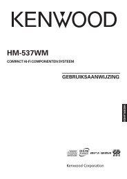 Kenwood HM-537WM - Home Electronics Dutch (2005/5/10)
