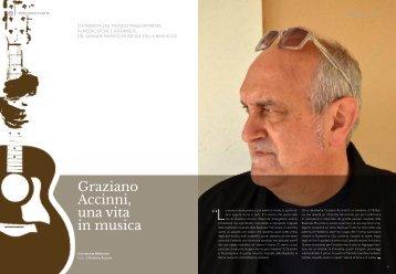 """Graziano Accinni una vita in musica """""""