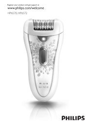 Philips SatinPerfect Epilator - User manual - KOR