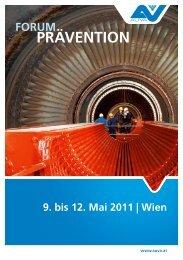 Forum Prävention 2011 Programm - Eval.at