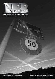 2011.04 [PDF, 5.00 MB] - Gemeinde Bichelsee-Balterswil