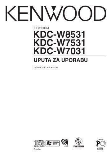 Kenwood KDC-W7531 - Car Electronics Croatian (2004/12/21)