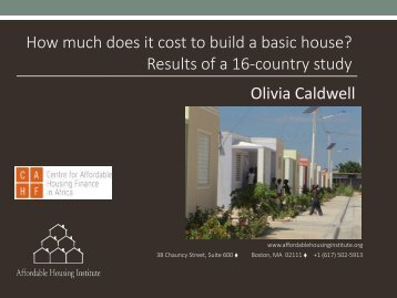 AUHF-2016_Affordable-Housing-Institute-Olivia-Caldwell-Cost-of-a-House-2016.09.15