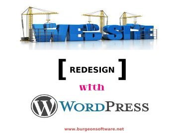 Redesign Your Website With WordPress Technology