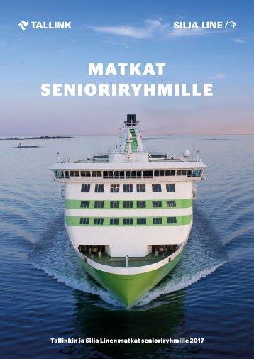 Tallink Silja Senioriryhmämatkat 2017