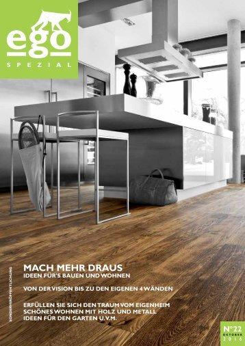 """ego Magazin Bitburg """"Bauen und Wohnen"""" - Ausgabe 22"""