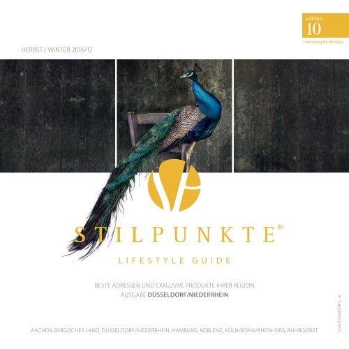 STILPUNKTE Lifestyle Guide Ausgabe 10 Düsseldorf Herbst/Winter 2016/2017
