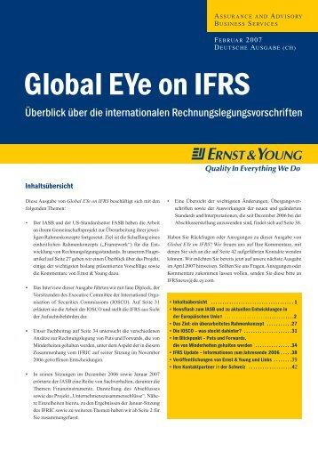 Global EYe on IFRS, Februar 2007 - Home - Ernst & Young - Schweiz