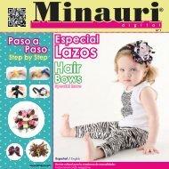 Minauri Digital Nº 01 (Lazos-Hairbows) Español-English (Bilingual)