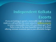 Independent Kolkata Escorts Services-kolkatavipmodels.co.in