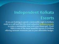 Independent Kolkata Escorts Services-kolkatavipmodels.co.in
