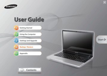 "Samsung Series 3 15.6"" Notebook - NP305E5A-A07US - User Manual (Windows 7) ver. 1.4 (ENGLISH,13.44 MB)"