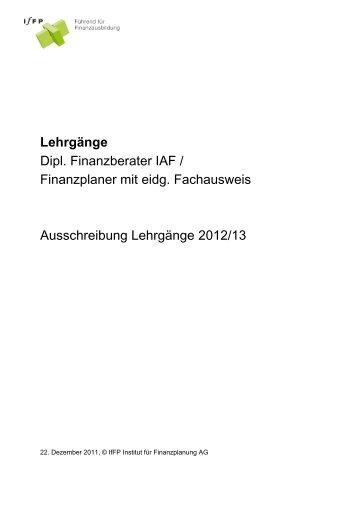 Formelsammlung finanzplaner mit eidg fa ubx iaf for Iaf finanzberater