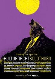 Programm Kulturnacht Solothurn - Altes Spital Solothurn