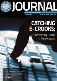 CATCHINg E-CROOkS; - The Police Association Victoria