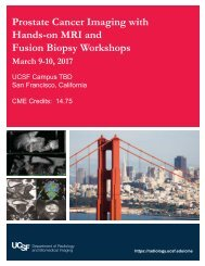 Prostate Cancer Imaging with Hands-on MRI and Fusion Biopsy Workshops