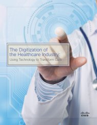 The Digitization of the Healthcare Industry