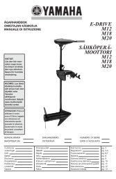 Yamaha M20 - 2014 - Manuale d'Istruzioni Italiano