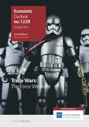 Trade Wars The Force Weakens
