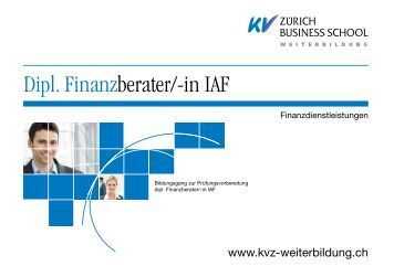 Fachleute im treuhandwese for Iaf finanzberater