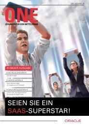 SEIEN SIE EIN SAAS-SUPERSTAR! - Oracle