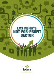 NOT-FOR-PROFIT SECTOR