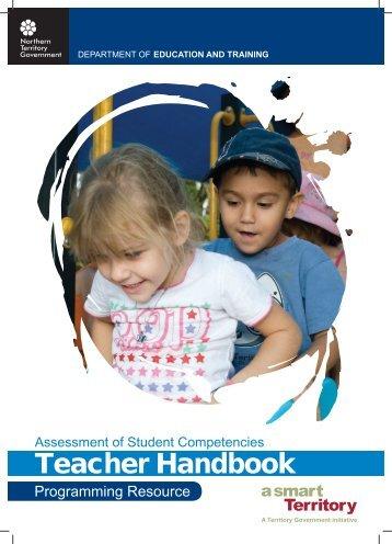 Teacher Handbook - Department of Education and Training