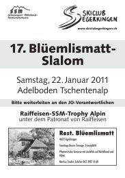 BRIEF für druck - Regionalverband Schneesport Mittelland