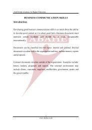 BUSINESS COMMUNICATION SKILLS Introduction:-