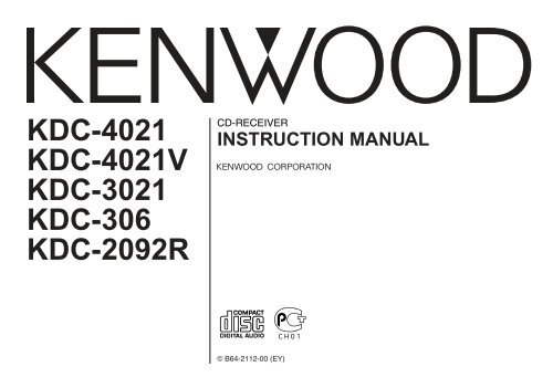 Kenwood KDC-3021 - Car Electronics English ()Yumpu