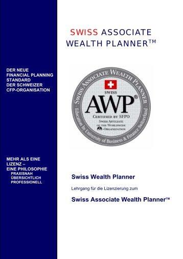 SWISS ASSOCIATE WEALTH PLANNERTM - Swiss AWP