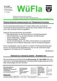 korrektur - Gemeinde Wünnewil-Flamatt