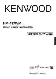 Kenwood HM-437WM - Home Electronics Dutch (2005/5/10)