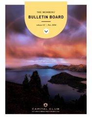 Members' bulletin board
