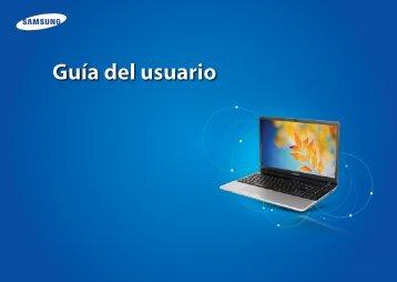 "Samsung Series 3 15.6"" Notebook - NP300E5C-A0BUS - User Manual (Windows 8) ver. 1.4 (SPANISH,15.07 MB)"