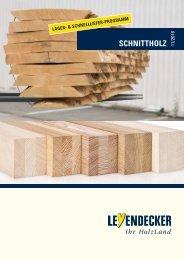 Leyendecker-Schnittholz Lagerübersicht
