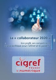 Le « collaborateur 2020 »