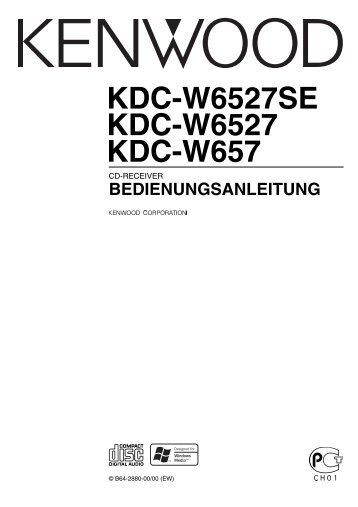 Kenwood KDC-W6527SE - Car Electronics German (2004/4/16)